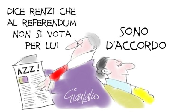 non si vota per Renzi