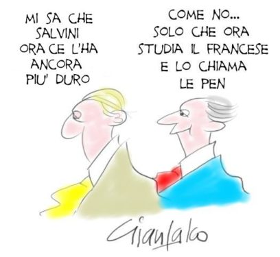 salvini e le pen