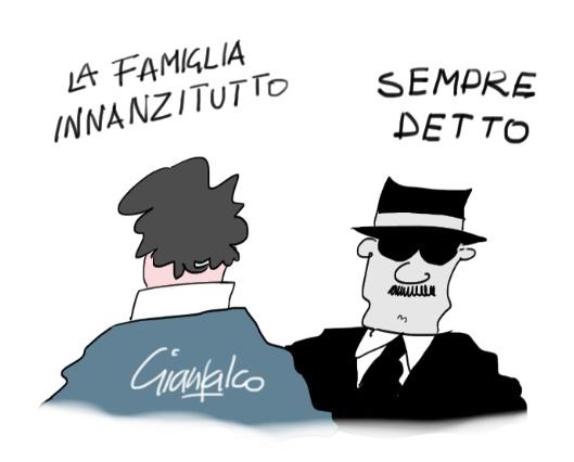 Eh, la famiglia…