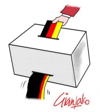 Germania, un passo indietro. Dell'oca
