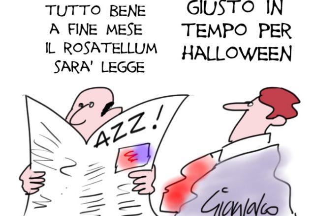 rosatellum e halloween