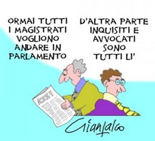 magistrati in parlamento