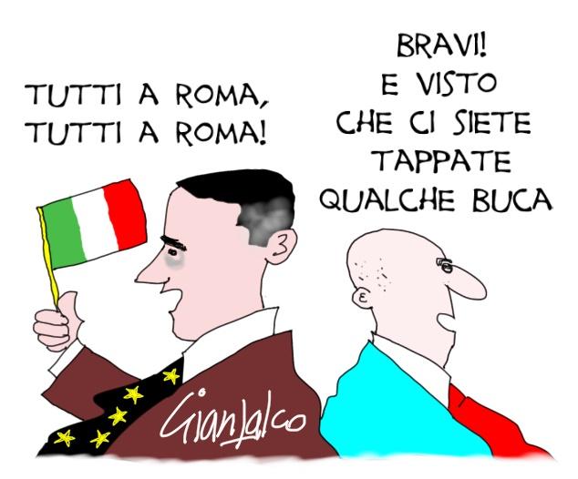 tutti a Roma