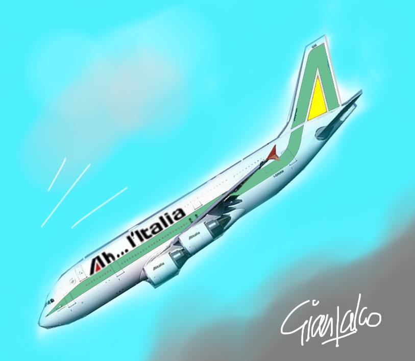 Alitalia ritornerà compagnia di bandiera. Giallo-verde