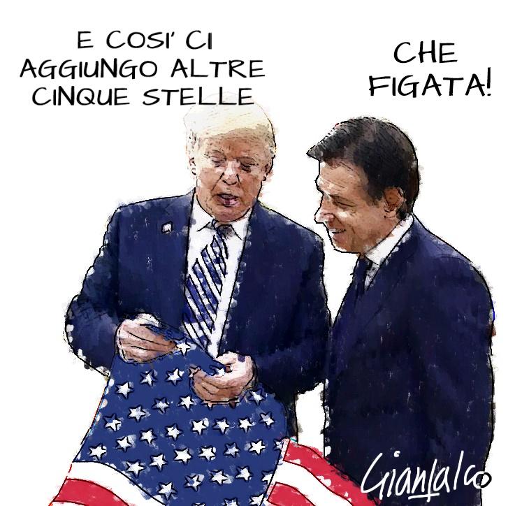 Trump e Conte