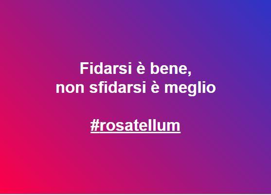 rosatellum con fiducia