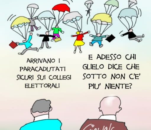 candidati paracadutati